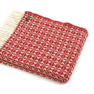 red-cobweave-wool-throw