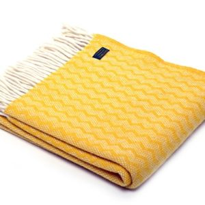 yellow-wool-throw